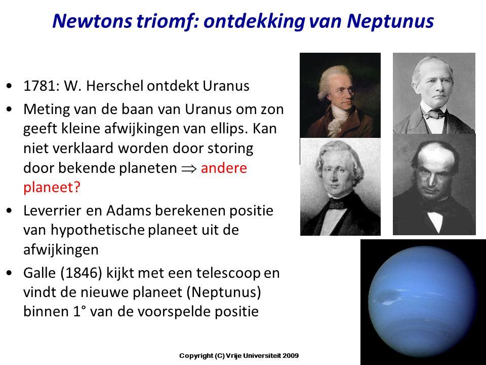 Newtons triomf: ontdekking van Neptunus