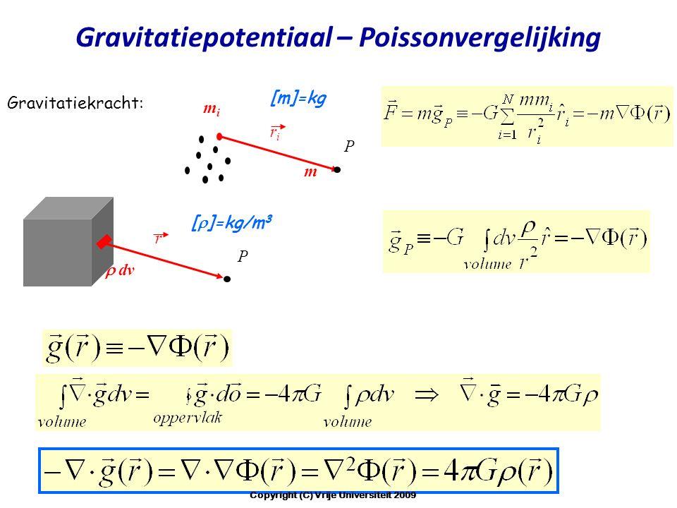 Gravitatiepotentiaal – Poissonvergelijking