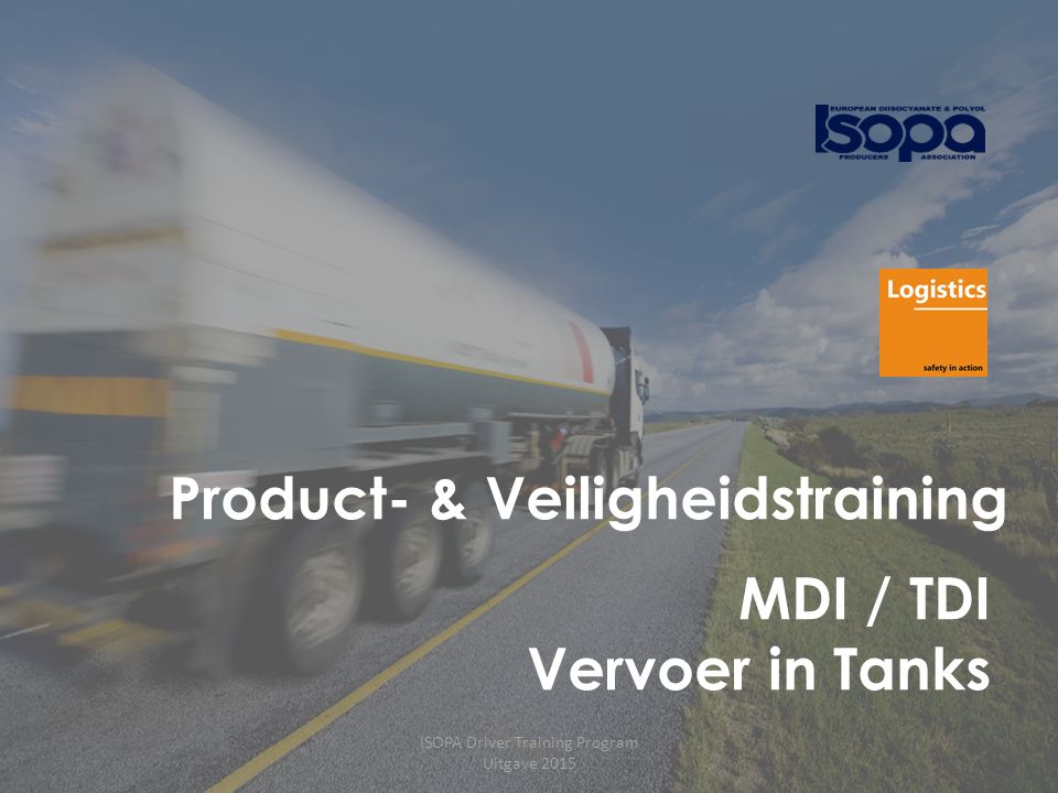 ISOPA Driver Training Program