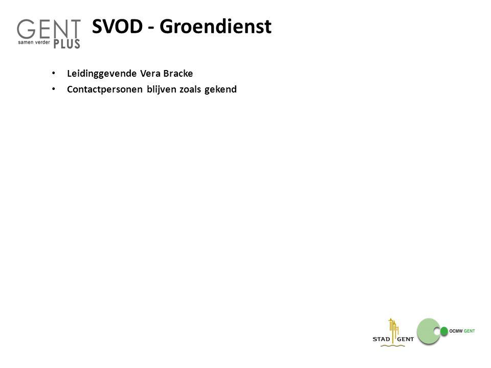 SVOD - Groendienst Leidinggevende Vera Bracke
