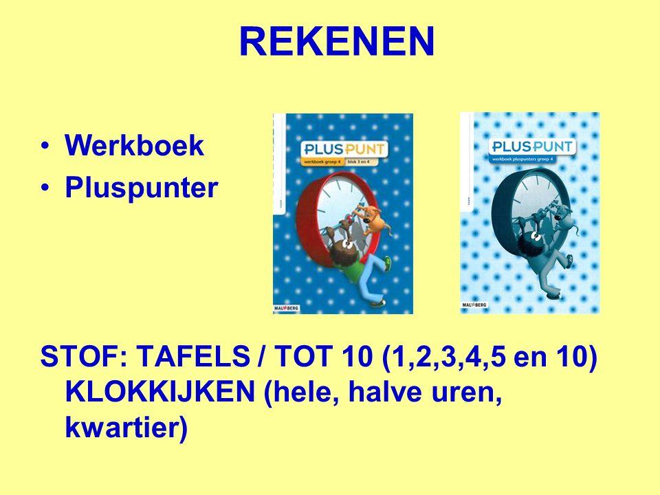 REKENEN Werkboek Pluspunter