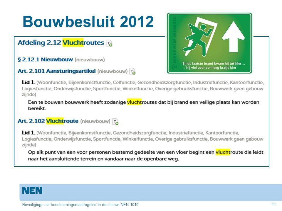 Bouwbesluit 2012 Beveiligings- en beschermingsmaatregelen in de nieuwe NEN 1010
