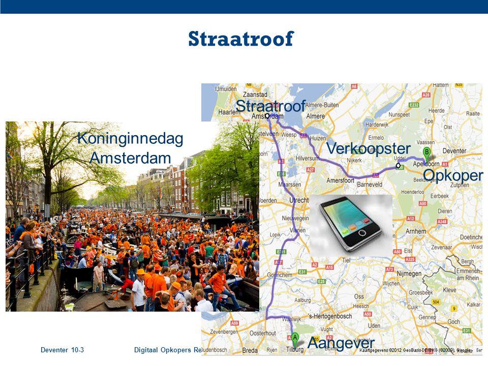 Voorbeeld 1 Straatroof Straatroof Koninginnedag Amsterdam Verkoopster
