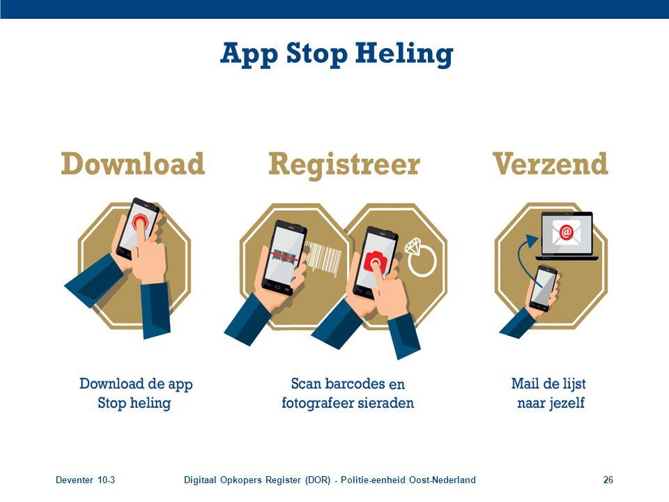 App Stop Heling Deventer 10-3