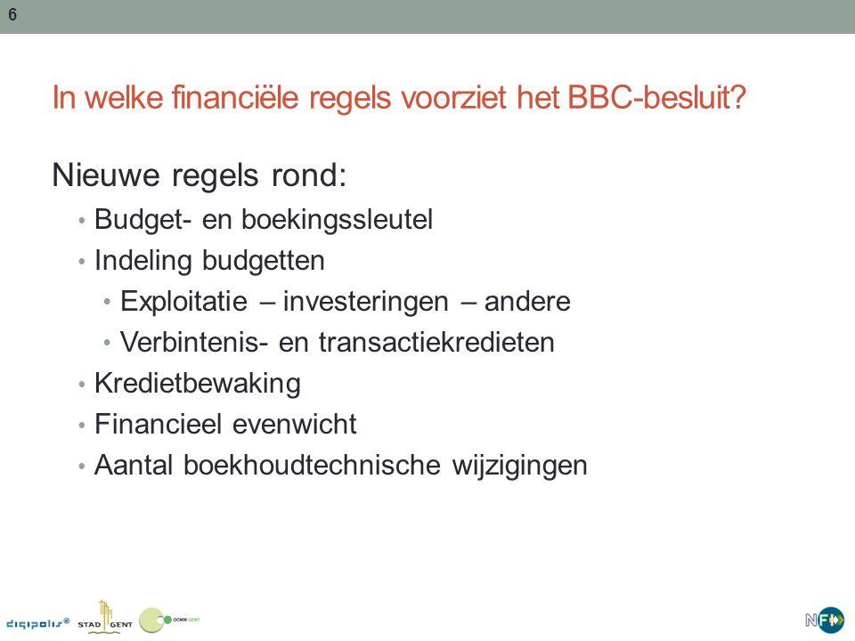 In welke financiële regels voorziet het BBC-besluit