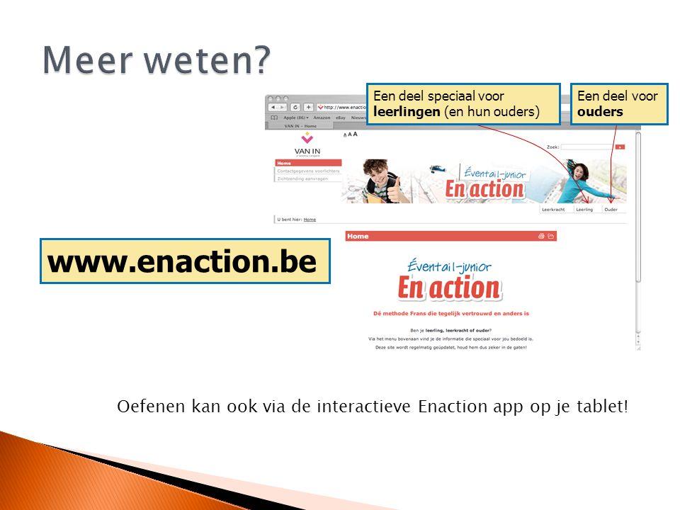 Meer weten www.enaction.be