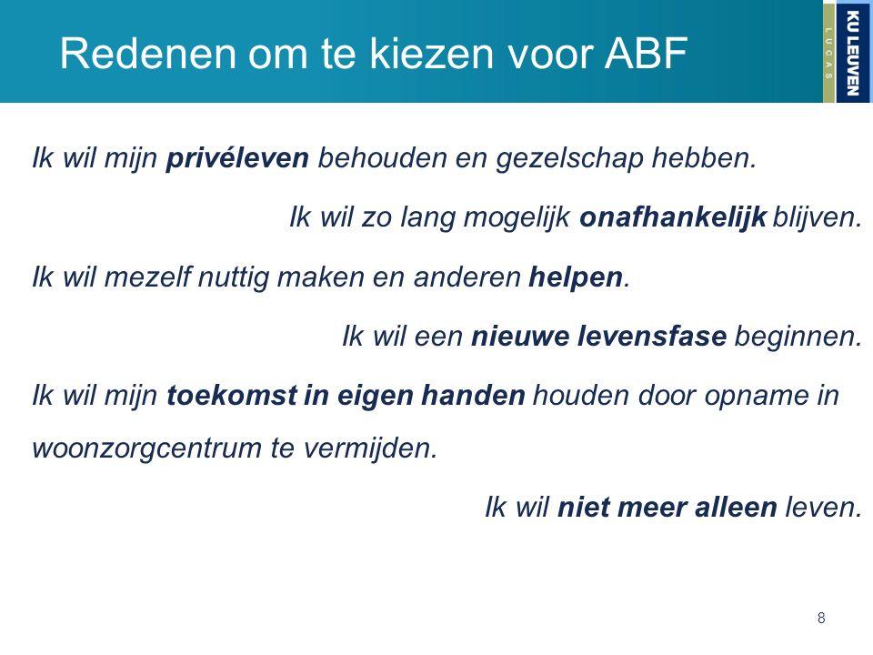 Redenen om te kiezen voor ABF