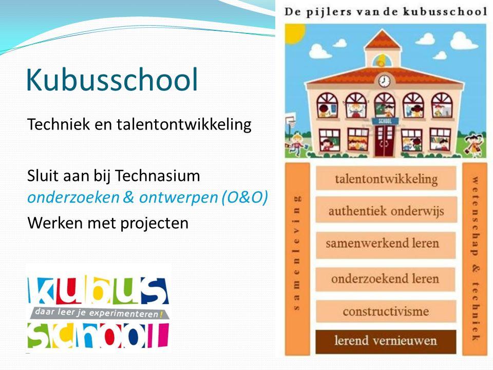 Kubusschool Techniek en talentontwikkeling