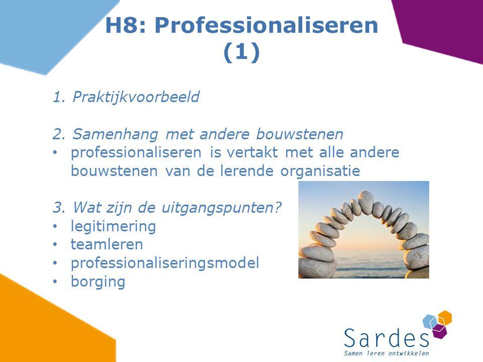 H8: Professionaliseren (1)