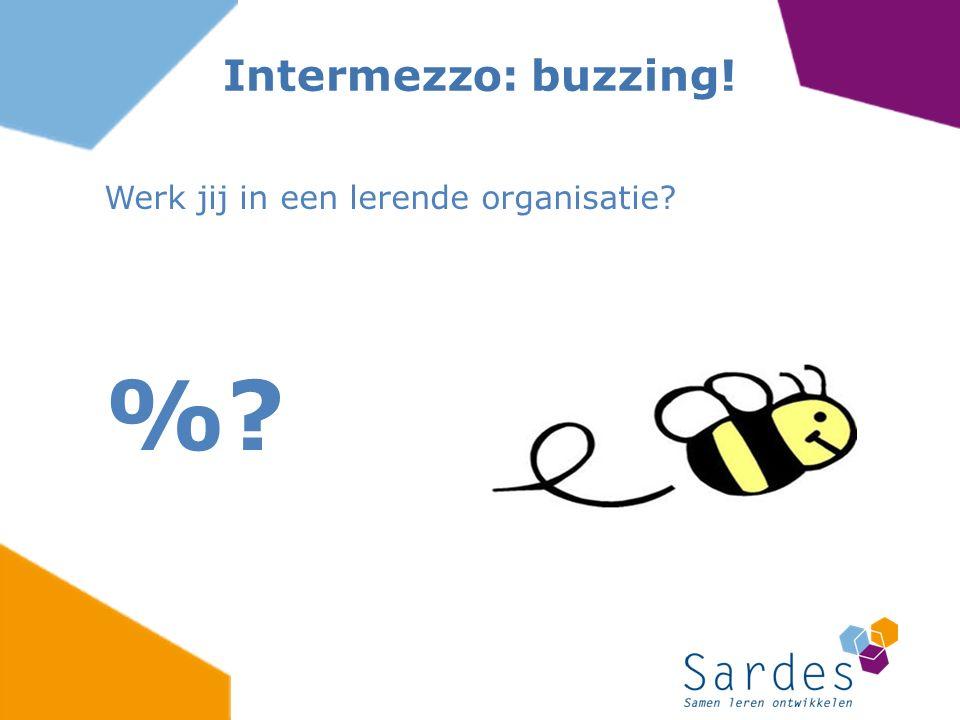 Werk jij in een lerende organisatie %