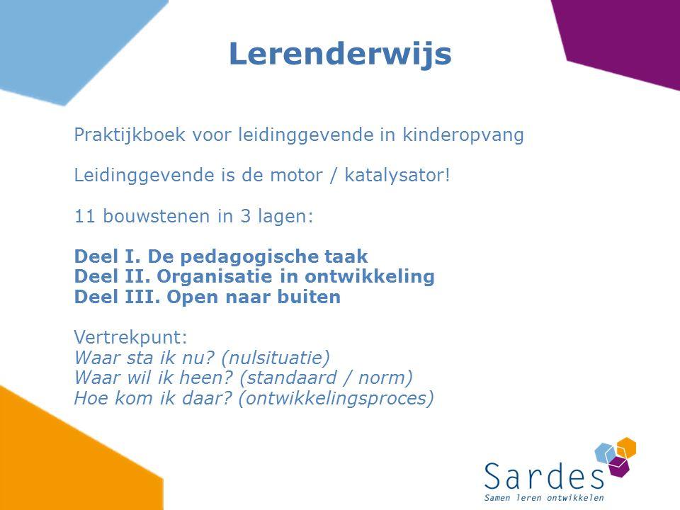 Lerenderwijs Praktijkboek voor leidinggevende in kinderopvang