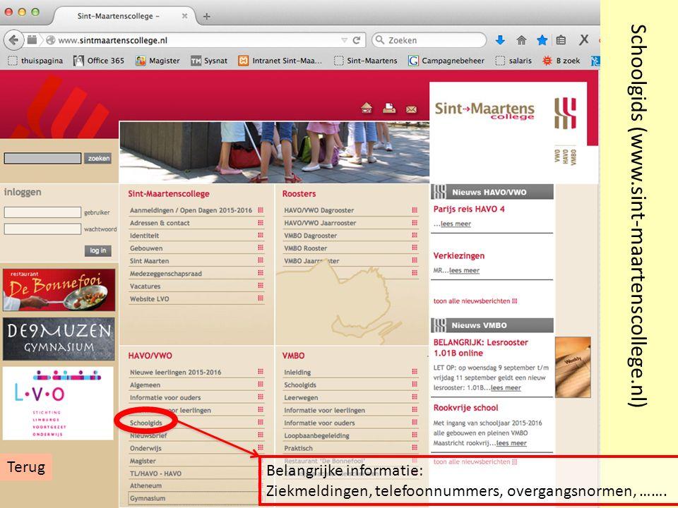 Schoolgids (www.sint-maartenscollege.nl)