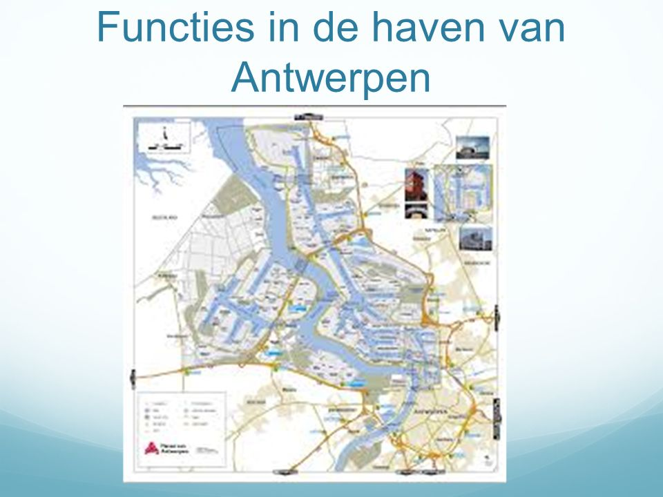 Functies in de haven van Antwerpen