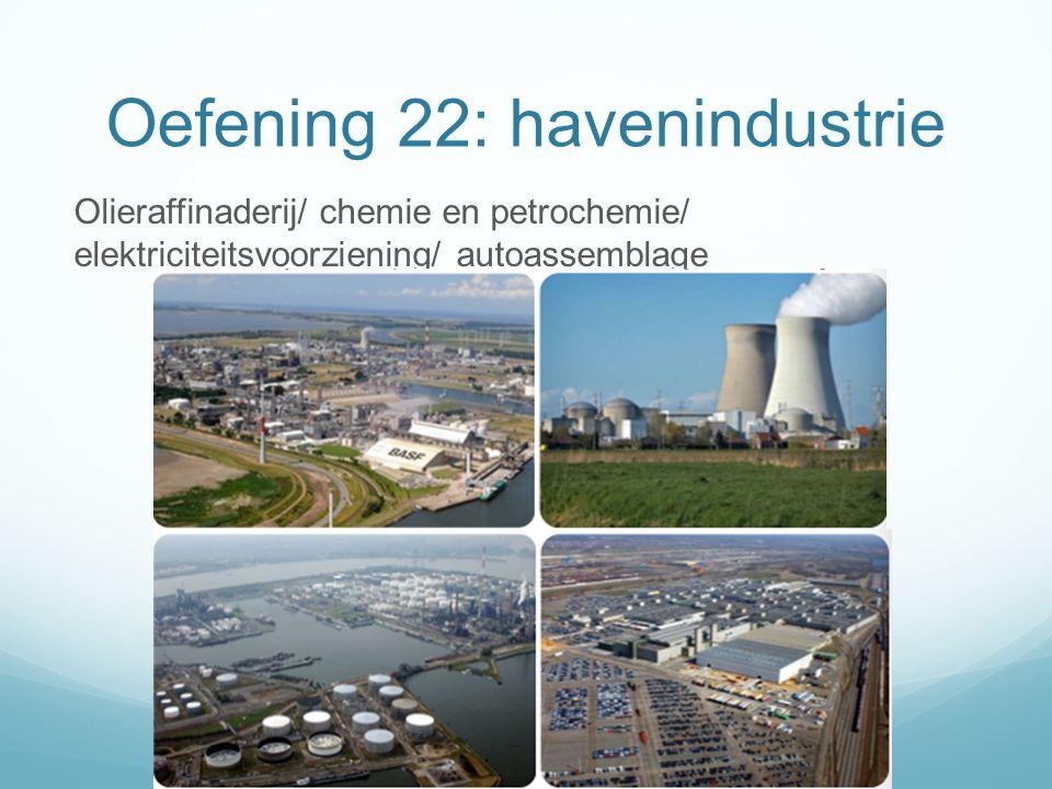 Oefening 22: havenindustrie