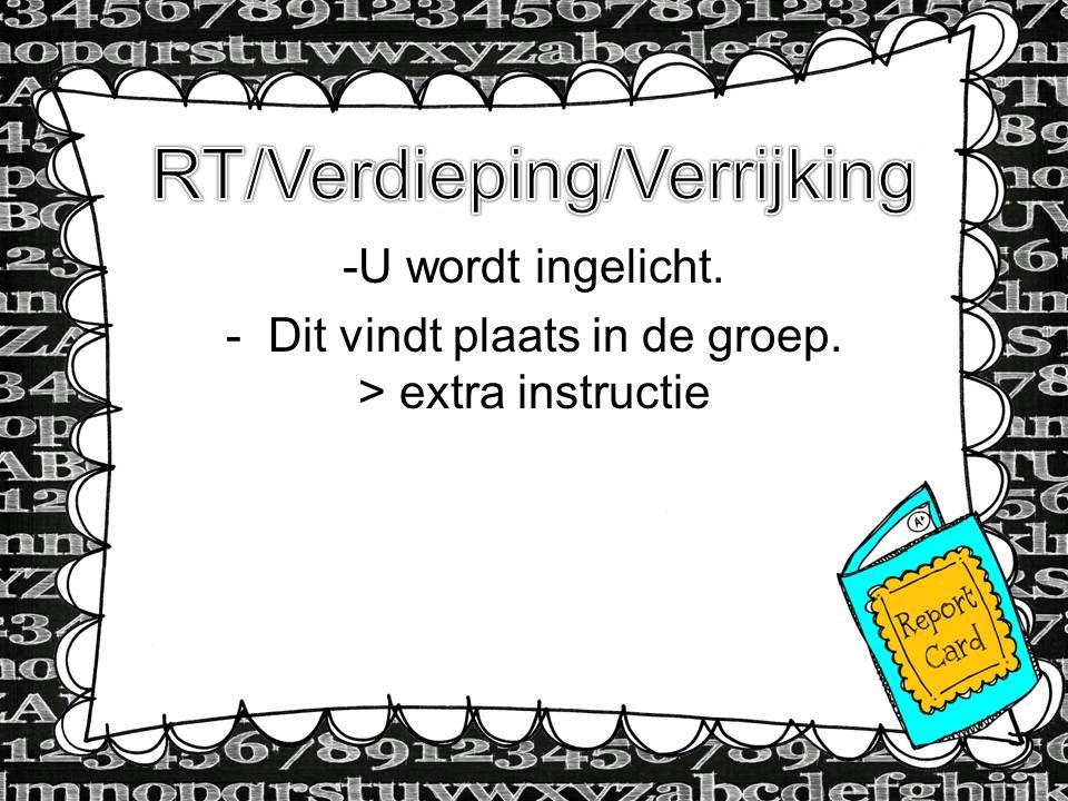 RT/Verdieping/Verrijking