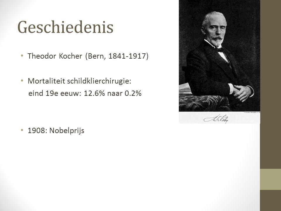 Geschiedenis Theodor Kocher (Bern, 1841-1917)