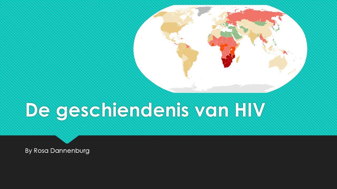 De geschiendenis van HIV
