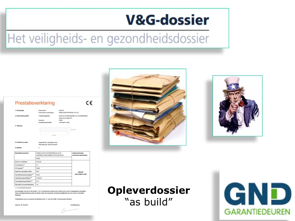 Opleverdossier as build