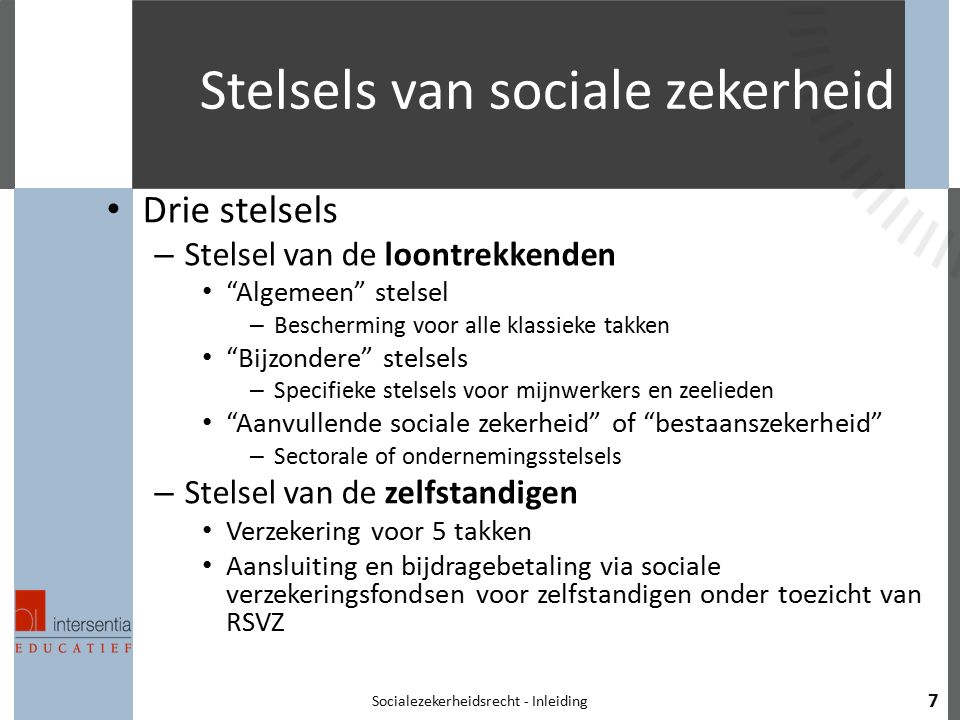 Stelsels van sociale zekerheid