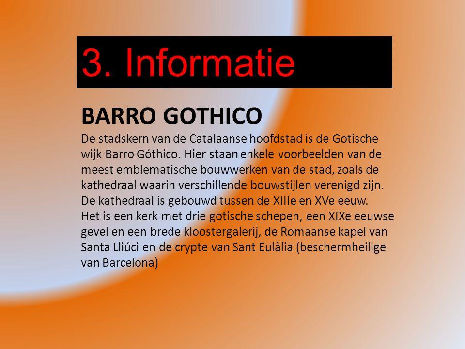 3. Informatie BARRO GOTHICO