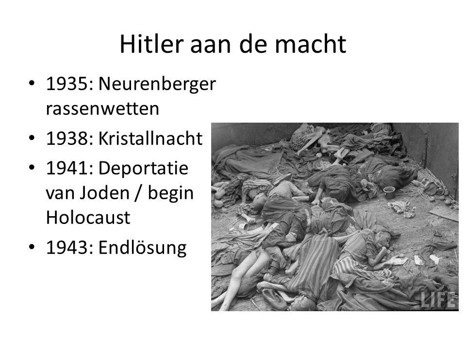 Hitler aan de macht 1935: Neurenberger rassenwetten
