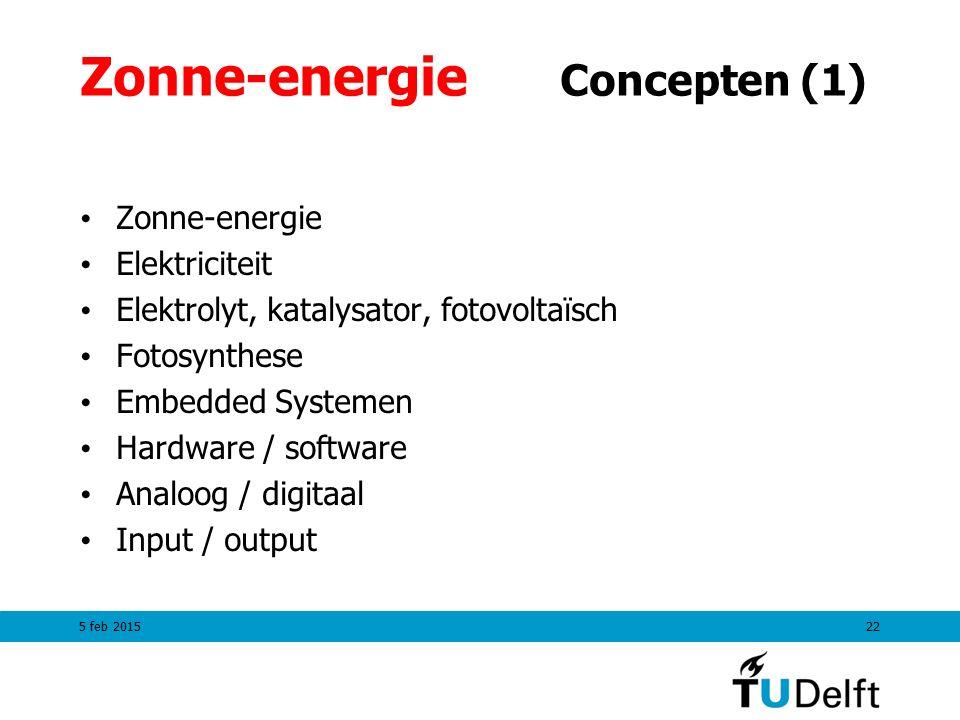Zonne-energie Concepten (1)
