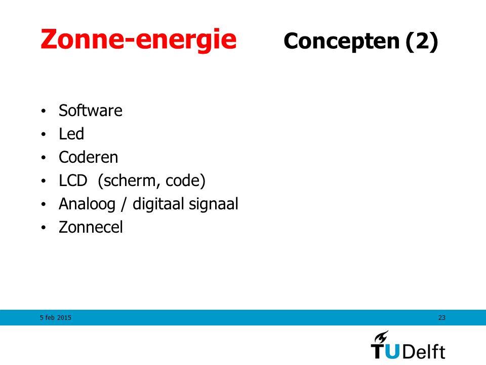 Zonne-energie Concepten (2)