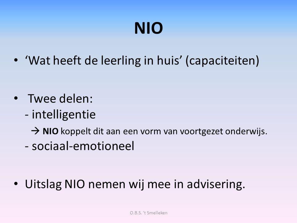 NIO 'Wat heeft de leerling in huis' (capaciteiten)