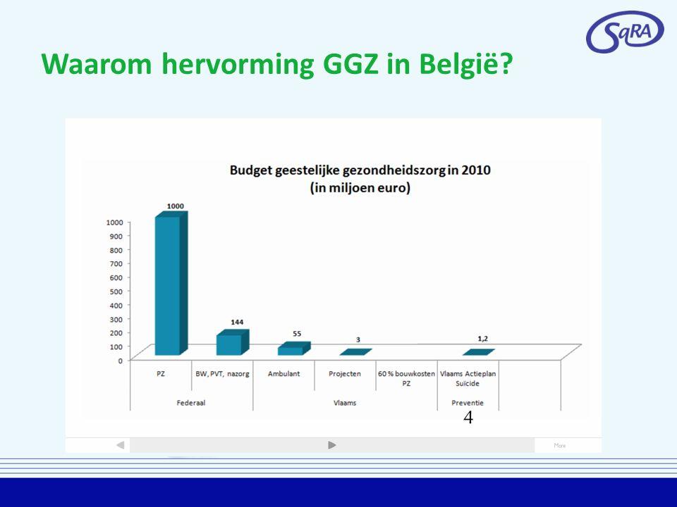 Waarom hervorming GGZ in België