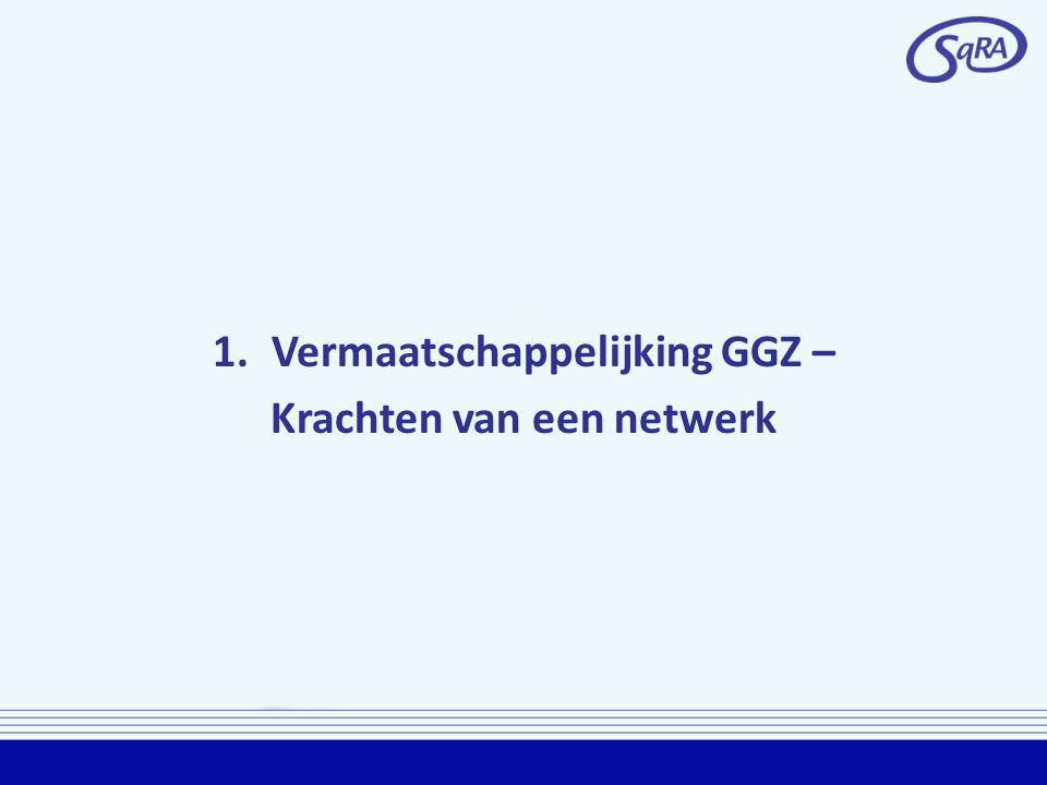 Vermaatschappelijking GGZ – Krachten van een netwerk