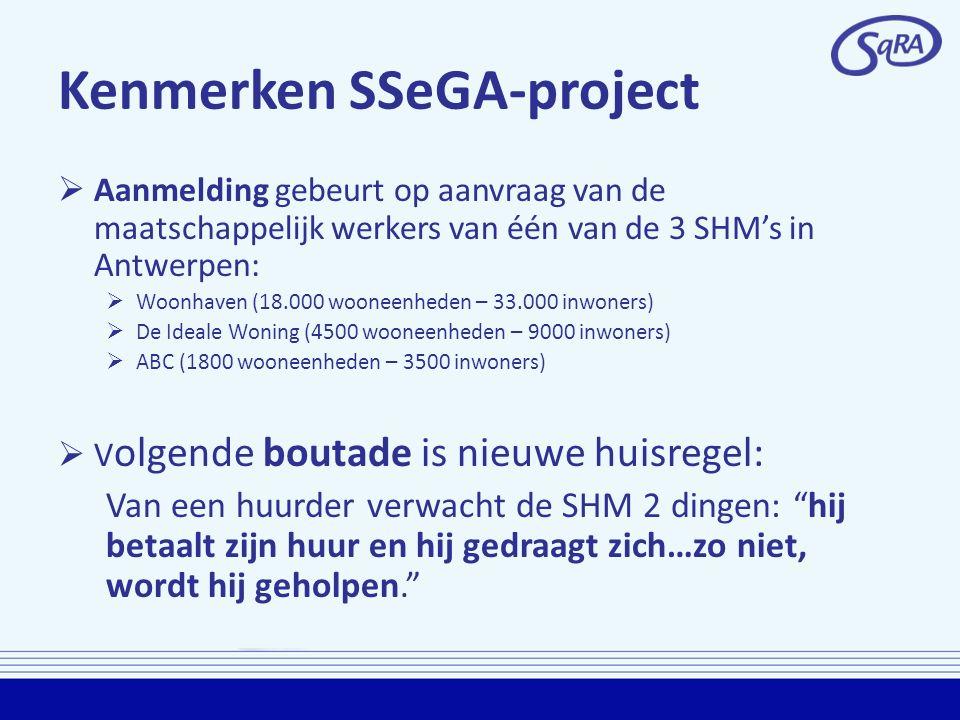 Kenmerken SSeGA-project