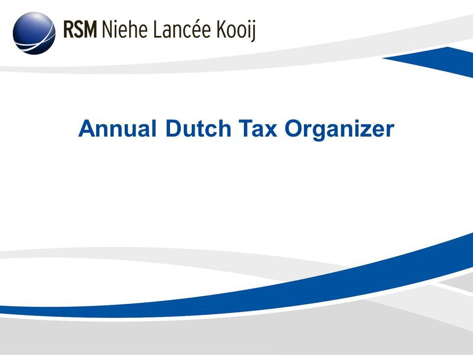 Annual Dutch Tax Organizer