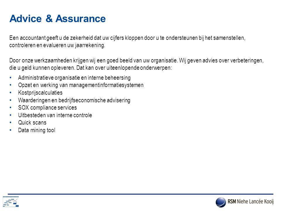 Advice & Assurance