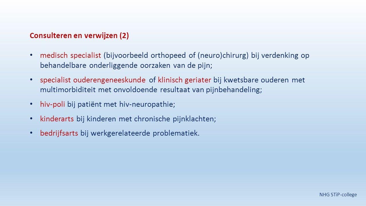 Consulteren en verwijzen (2)