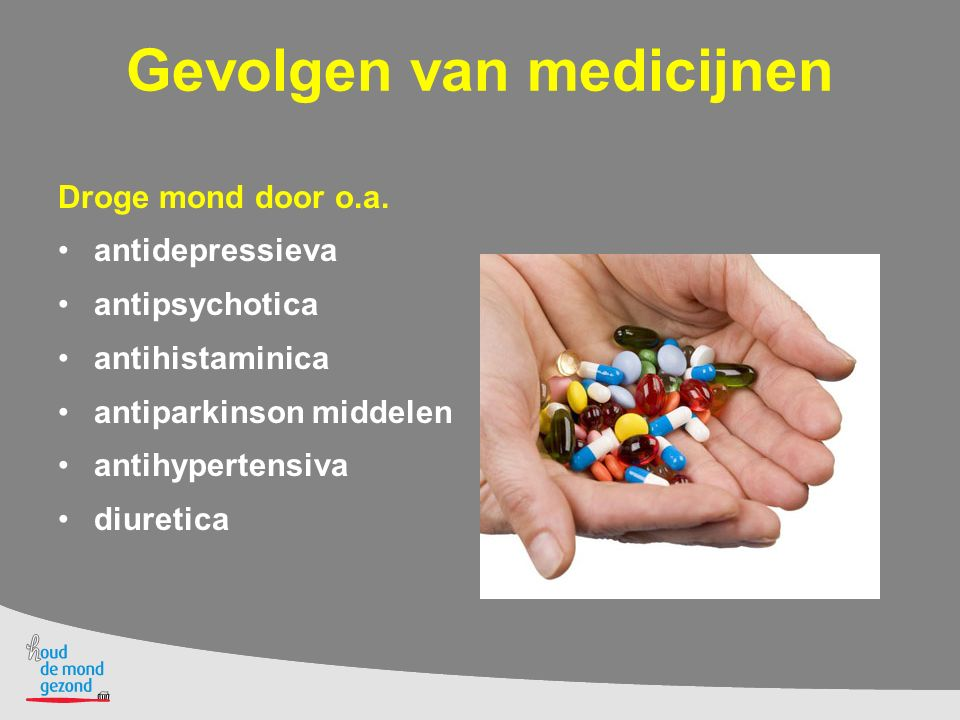 Gevolgen van medicijnen