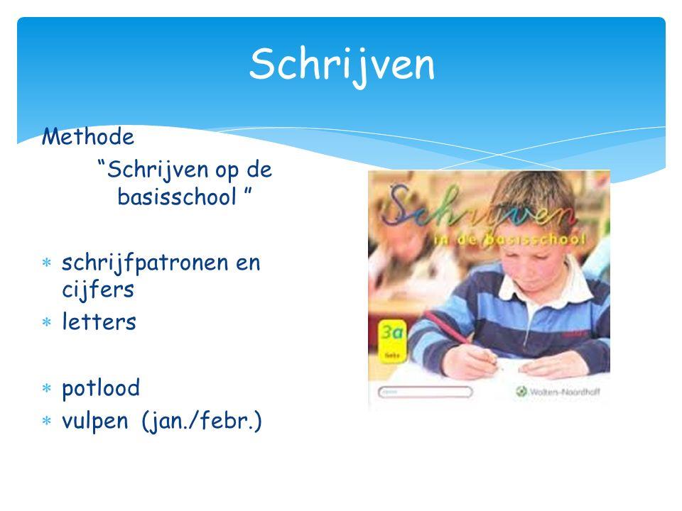 Schrijven op de basisschool