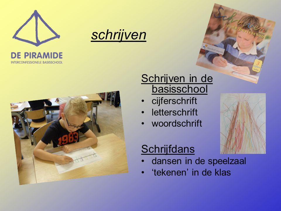 schrijven Schrijven in de basisschool Schrijfdans cijferschrift