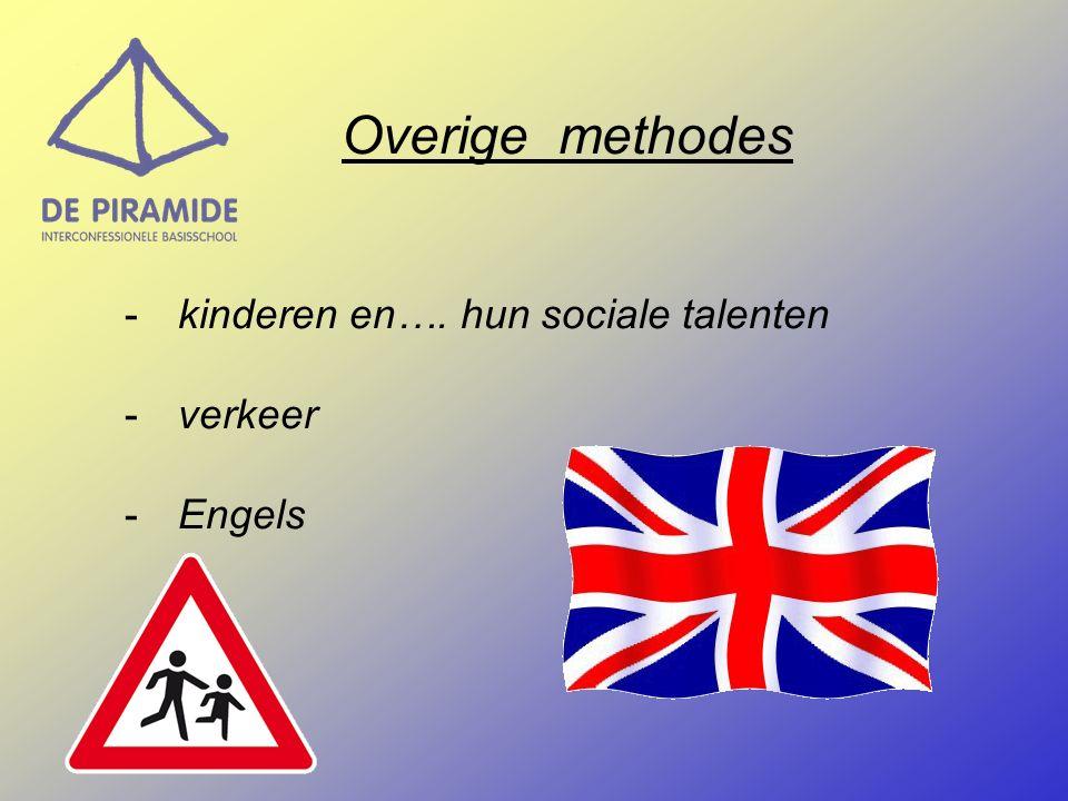 Overige methodes kinderen en…. hun sociale talenten verkeer Engels