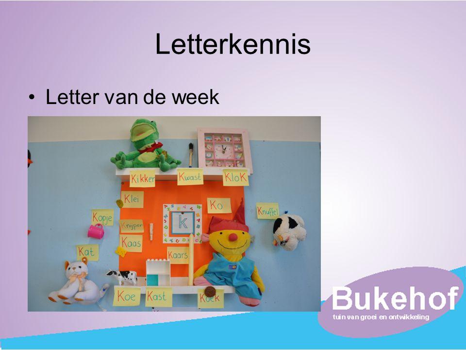 Letterkennis Letter van de week