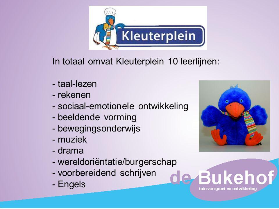 In totaal omvat Kleuterplein 10 leerlijnen: