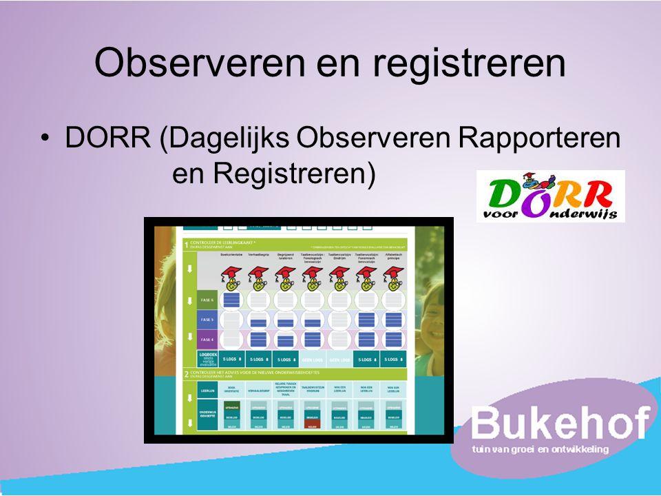 Observeren en registreren