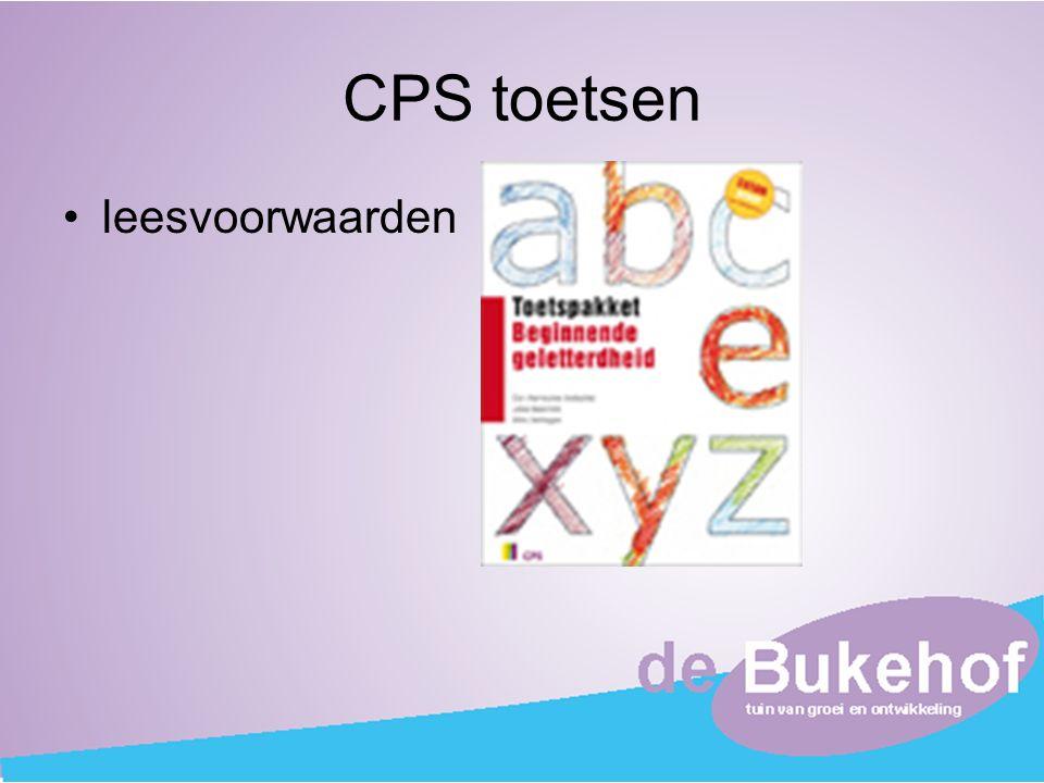 CPS toetsen leesvoorwaarden