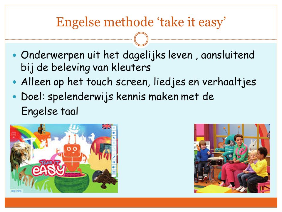 Engelse methode 'take it easy'