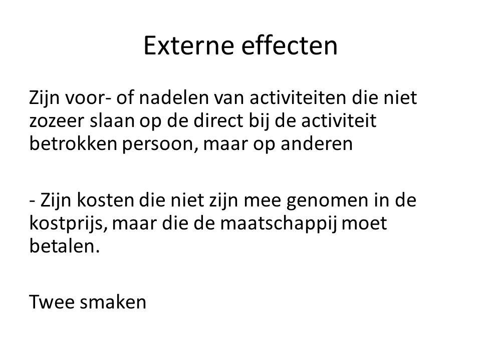 Externe effecten