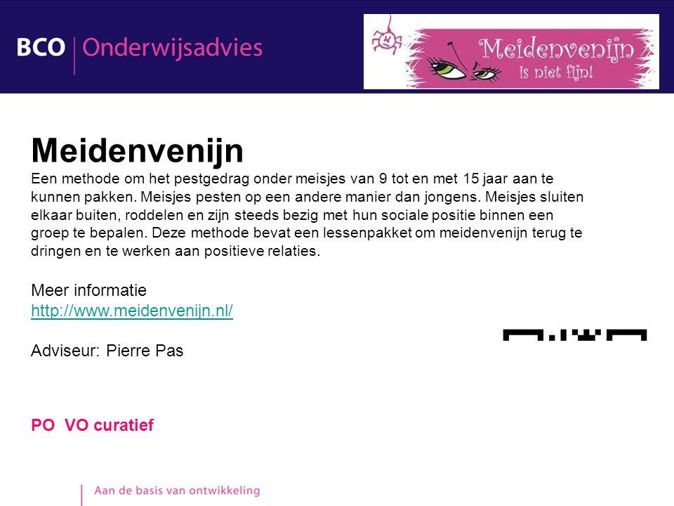 Meidenvenijn Meer informatie http://www.meidenvenijn.nl/