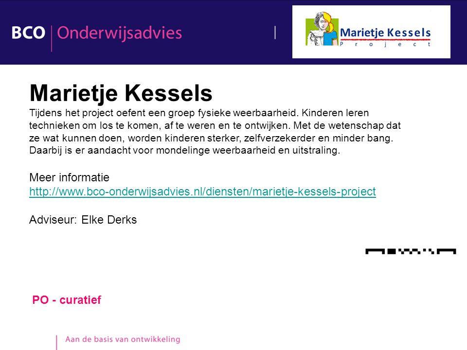 Marietje Kessels Meer informatie