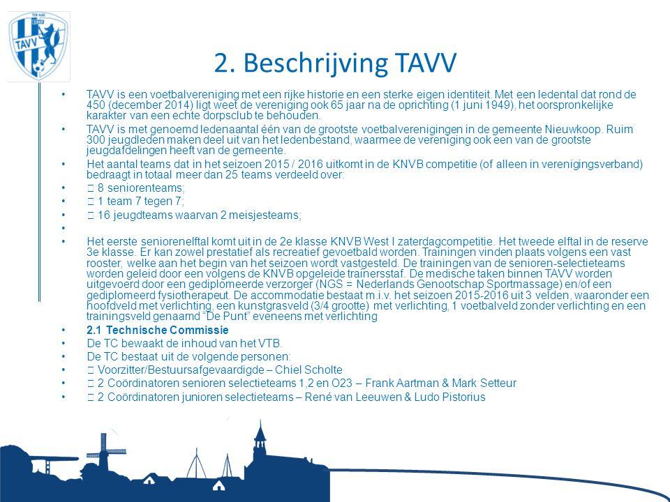 2. Beschrijving TAVV