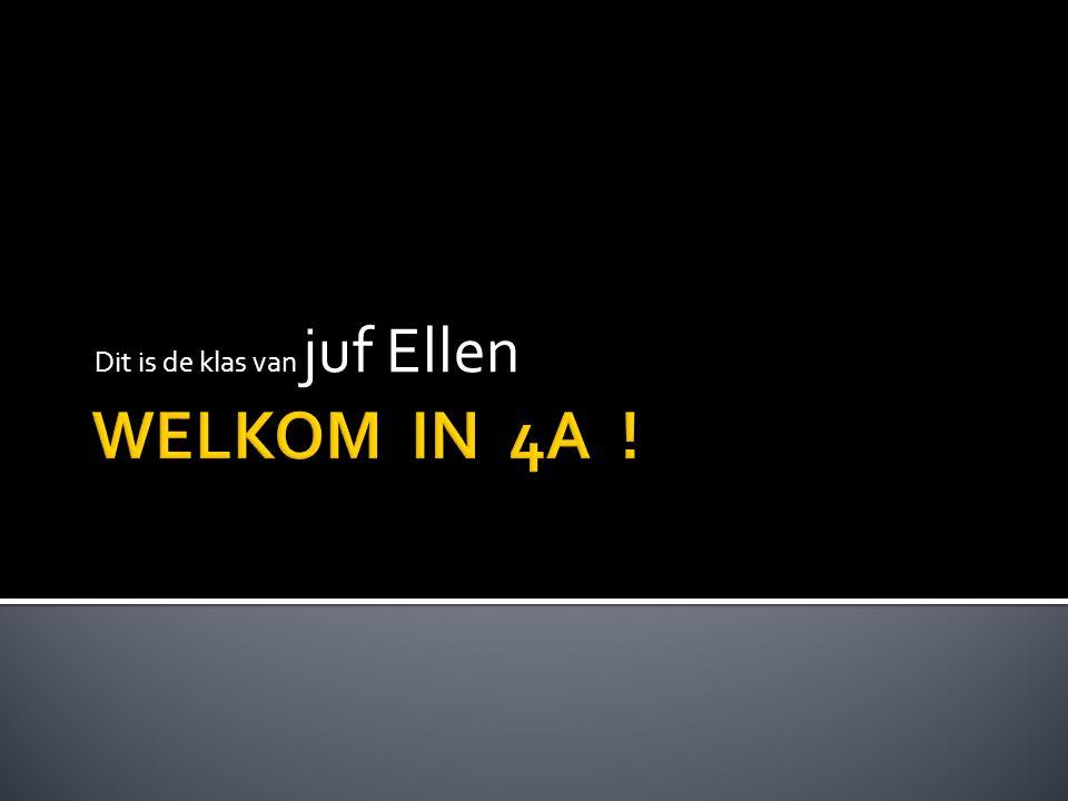 Dit is de klas van juf Ellen