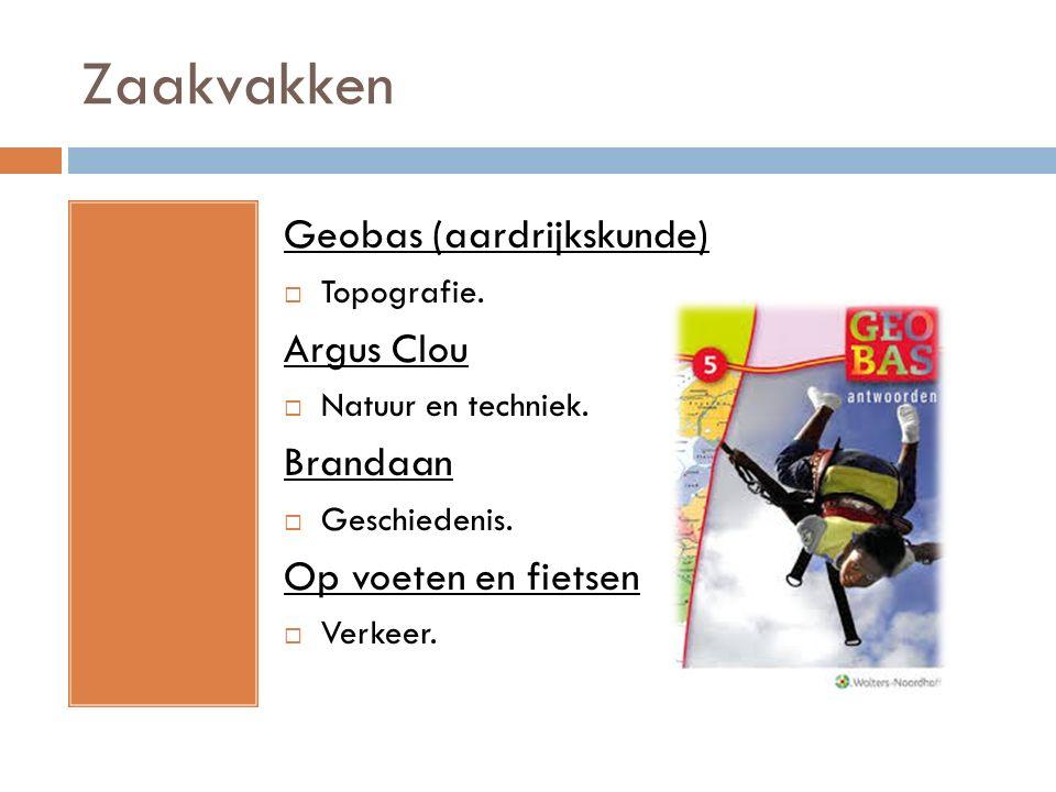 Zaakvakken Geobas (aardrijkskunde) Argus Clou Brandaan
