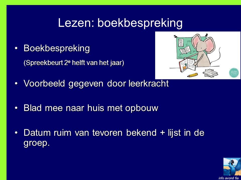 Lezen: boekbespreking